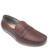 SeeandWear Genuine Leather Loafers (Brow...