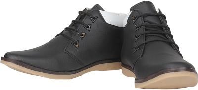 Urban Basket Versatile Black Casual Shoes