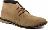 De Scalzo Desert Boots (Beige)