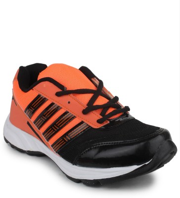11e 11e Black Orange Running Shoes