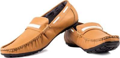 Lee Point 202 Tan Loafers