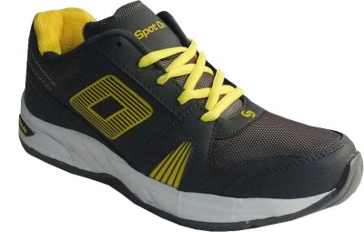 Spot On FKSP-E-252-DGRY-YLW Running Shoes