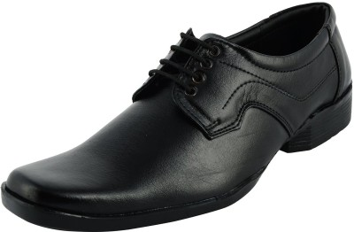 Five S Black Formal Shoes Lace Up