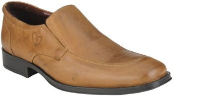 Delize 64874-Tan Slip On Shoes