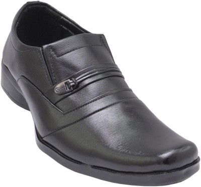 GS Collection Black Formal Men Shoes