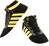 Corpus A4 Casual Shoes (Black, Yellow)