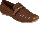 Pureits Leathers Loafers (Brown)