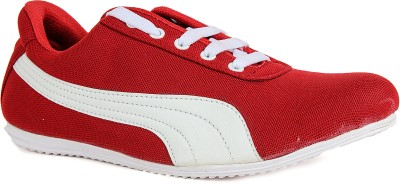 Runner Chief Red-White Sneakers