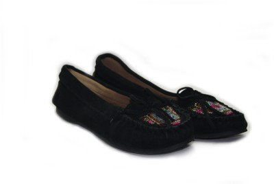 Shimmer Shoes Leather Beaded Bellies