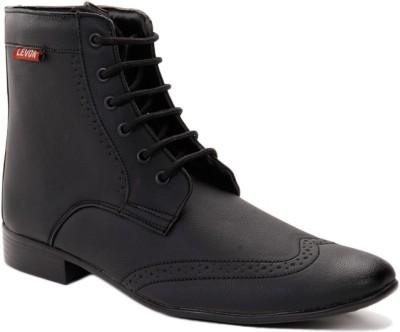 Levon London Levon Dark Doncaster Boots