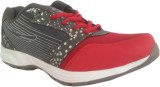 CRV Running Shoes (Red, Grey)