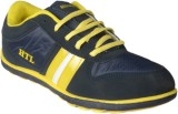 Hitcolus Navy Blue & Yellow Casual Shoes...