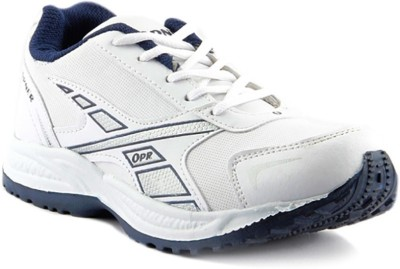 Dox White Walking Shoes