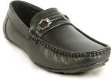 Calaso 2122 Black Loafers (Black)