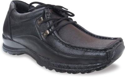 Sapatos Black Genuine Leather stylish Outdoors Shoes