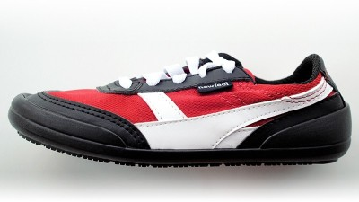 Newfeel Many Casual Sports Shoes for Boys,Girls(Red,Black)