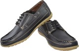Fossa Boat Shoes (Black)