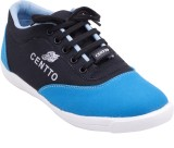 Centto Double toned Casual Shoes (Black)