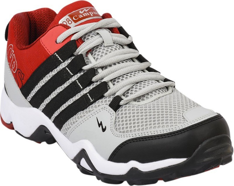 Campus TRIGGEER Running ShoesBlack Red