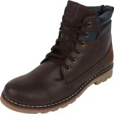 Molessi Brown Boots (Brown)