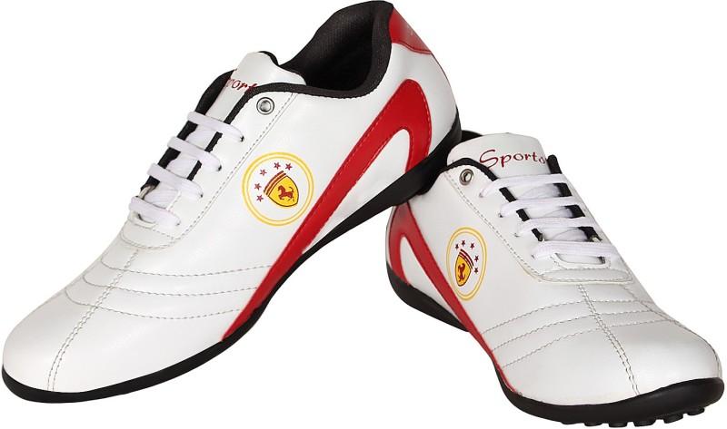 Nexq Walking Sports Red Walking ShoesWhite Red