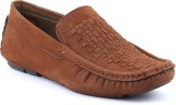 Platinum Peacock Loafers (Brown)