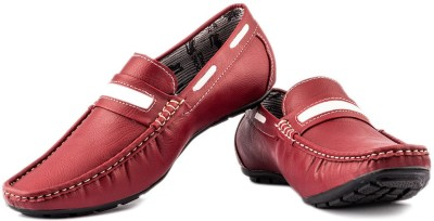 Lee Point 202 Red Loafers