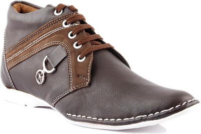 Kohinoor Brown Casual Shoes