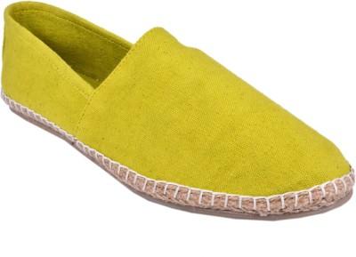 Aartisto Canvas Men's Yellow Espadrilles Canvas Shoes