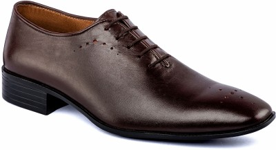 Nudo Formal Brown Lace Up Shoes