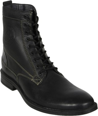 LITHUS Pure Leather High Ankle Boots Boots