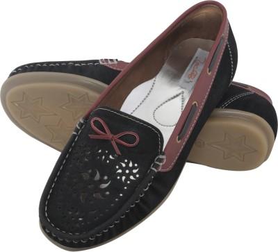 Zachho HC182 Loafers(Black)