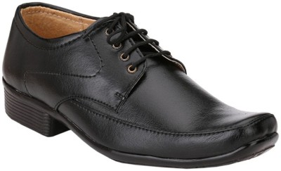Anshul Fashion Mens Black Formal Regular Office purpose Lace up Shoes Lace Up