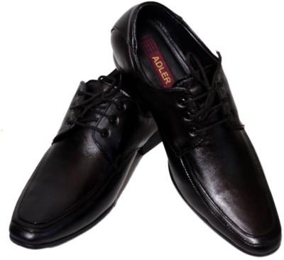 Adler Men,s Genuine Leather Trendy Lace Up