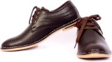 Sam Stefy Brown Casual Shoes (Brown)