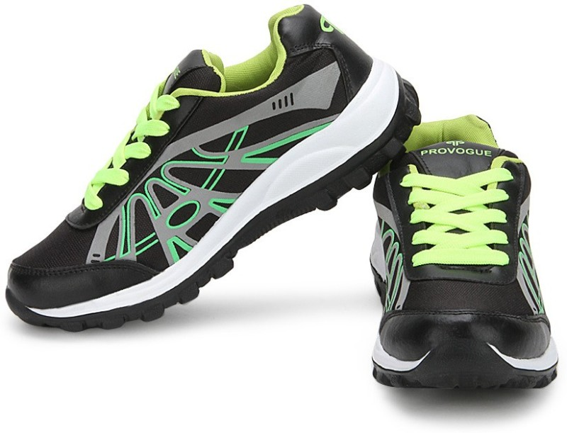 Provogue Running ShoesBlack Green SHOEB4MGUPDHGVCY