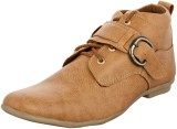 Zohran Olive Casual Shoes (Olive)