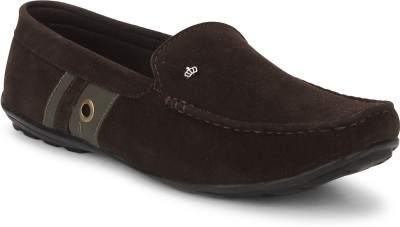 Adam Step Adam Step Brown Suede Casual Loafers Loafers