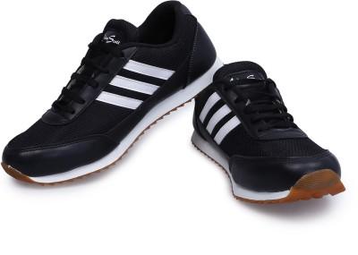 Andrew Scott Black-White Running Shoes