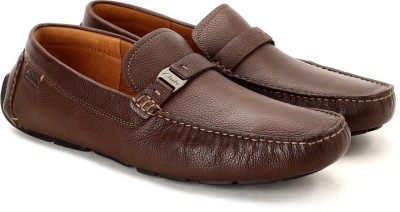 Clarks Davont Saddle Brown Tumb Casual Shoes
