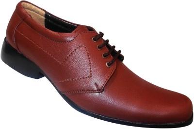 Zikrak Exim Stylish Genuine Leather Lace Up Shoes