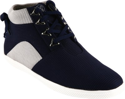Bacca Bucci Blue Sneakers(Blue, Grey)