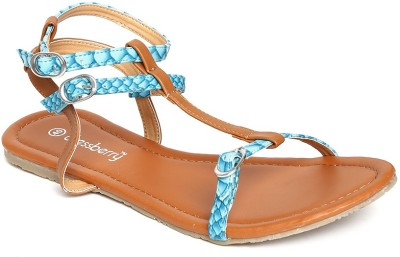 Dressberry Bellies(Blue, Tan) at flipkart