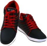 American Fits Sneakers (Black, Red)