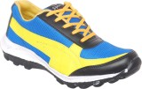 NYN Running Shoes (Blue, Yellow)