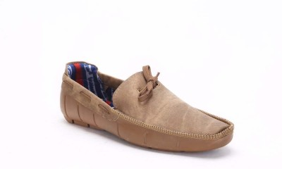 Quarks Brown Boat Shoes