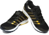 Ziesha Training & Gym Shoes (Black, Yell...