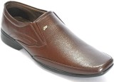 BLK LEATHER Slip On (Brown)