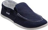 F22 F-22-02-1 Blue Slip-on Casual Shoes ...