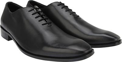 Brigit Corporate Shoes Black Lace Up